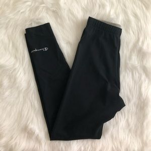 [champion] black leggings